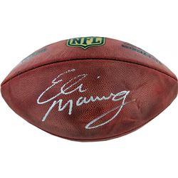 """Eli Manning Signed NFL """"The Duke"""" Football (Steiner COA)"""