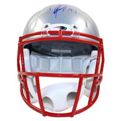 Rob Gronkowski Signed Patriots Full Size Speed Helmet (Steiner COA)