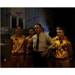 Hoosiers 16x20 Photo Cast-Signed by (8) with Gene Hackman, Brad Boyle, Steve Hollar, Brad Long (Stei
