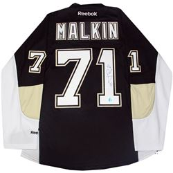 Evgeni Malkin Signed Penguins Reebok Premier Jersey (AJ Sports)