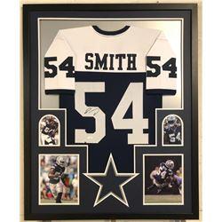Jaylon Smith Signed Cowboys 34x42 Custom Framed Jersey (JSA COA)