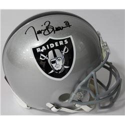 Tim Brown Signed Raiders Authentic On-Field Full-Size Helmet (Beckett COA)