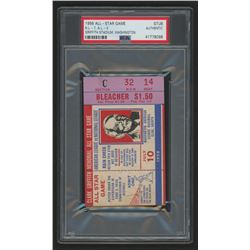Authentic 1956 MLB All-Star Game Ticket (PSA Encapsulated)