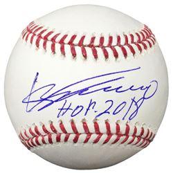 "Vladimir Guerrero Signed OML Baseball Inscribed ""HOF 2018"" (JSA COA)"