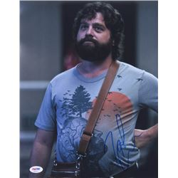 "Zach Galifianakis Signed ""The Hangover"" 11x14 Photo (PSA COA)"