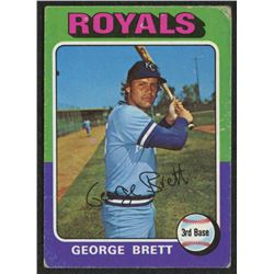 1975 Topps #228 George Brett RC