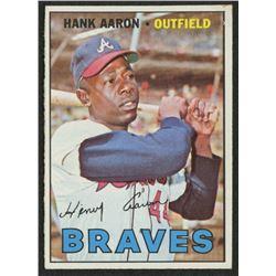 1967 Topps #250 Hank Aaron