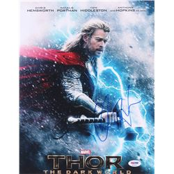 "Chris Hemsworth Signed ""Thor: The Dark World"" 11x14 Photo (PSA COA)"