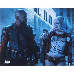 "Margot Robbie Signed ""Suicide Squad"" 11x14 Photo (PSA COA)"
