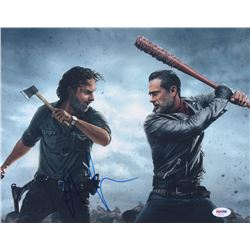 "Andrew Lincoln Signed ""The Walking Dead"" 11x14 Photo (PSA COA)"