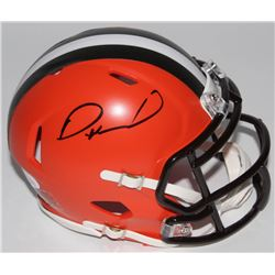 Denzel Ward Signed Browns Speed Mini Helmet (JSA COA)
