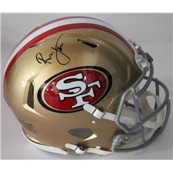 Ronnie Lott Signed 49ers Authentic On-Field Full-Size Speed Helmet (Beckett COA)
