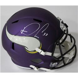 Dalvin Cook Signed Vikings Full-Size Speed Helmet (JSA COA)