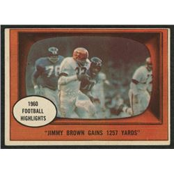 1961 Topps #77 Jim Brown In Action