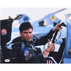"Tom Cruise Signed ""Top Gun"" 11x14 Photo (PSA COA)"