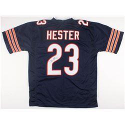Devin Hester Signed Bears Jersey (JSA COA)