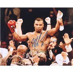 Mike Tyson Signed 11x14 Photo (PSA COA)