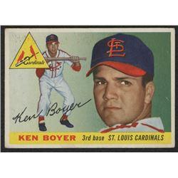 1955 Topps #125 Ken Boyer RC