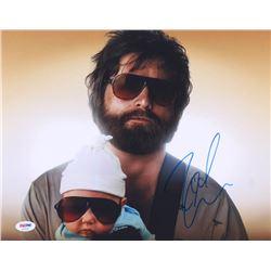 """Zach Galifianakis Signed """"The Hangover"""" 11x14 Photo (PSA COA)"""