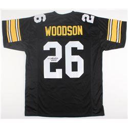 "Rod Woodson Signed Steelers Jersey Inscribed ""HOF 09"" (JSA COA)"