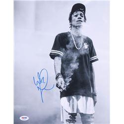 Wiz Khalifa Signed 11x14 Photo (PSA COA)