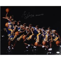 """Tim Hardaway Signed Warriors 16x20 Photo Inscribed """"Crossover King"""" (JSA Hologram)"""