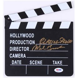 "Mel Brooks Signed ""Blazing Saddles"" Miniature Clapperboard (PSA COA)"