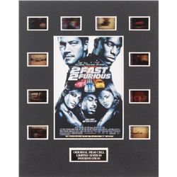 """""""2 Fast 2 Furious"""" Limited Edition Original Film/Movie Cell Display"""