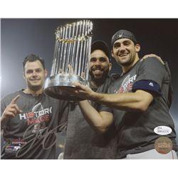Joe Kelly Signed Red Sox World Series 8x10 Photo (JSA COA)