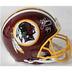 John Riggins Signed Redskins Authentic On-Field Full-Size Helmet (JSA COA)