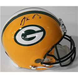 Aaron Rodgers Signed Packers Authentic On-Field Full-Size Helmet (Steiner Hologram)