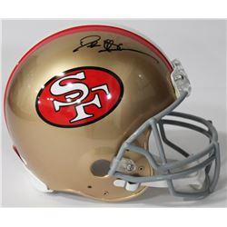 Deion Sanders Signed 49ers Authentic On-Field Full-Size Helmet (JSA COA)