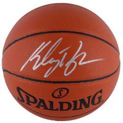 Klay Thompson Signed Spalding Basketball (Fanatics Hologram)