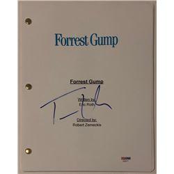 """Tom Hanks Signed """"Forrest Gump"""" Full Movie Script (PSA COA)"""