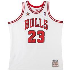 Michael Jordan Signed Bulls 1998 NBA All-Star Authentic Mitchell  Ness Jerey (UDA COA)