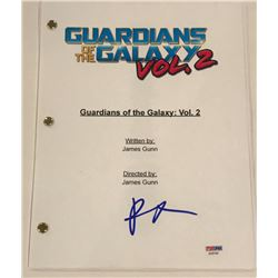 """Pom Klementieff Signed """"Guardians of the Galaxy Vol. 2"""" Full Movie Script (PSA COA)"""