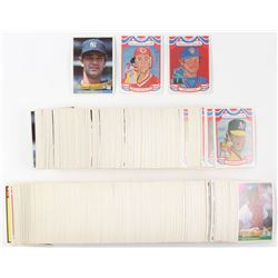 1984 Donruss Complete Set of (660) Baseball Cards with #248 Don Mattingly RC