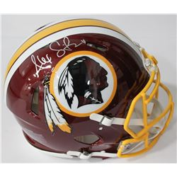 Alex Smith Signed Redskins Authentic On-Field Full-Size Speed Helmet (Beckett COA)
