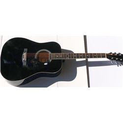 "Richie Sambora Signed Full-Size Acoustic Guitar Inscribed ""Livin On A Prayer"" (PSA COA)"