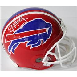 Jim Kelly Signed Bills Authentic On-Field Full-Size Speed Helmet (JSA COA)