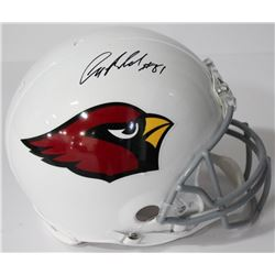 Anquan Boldin Signed Cardinals Authentic On-Field Full-Size Helmet (Beckett COA)