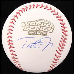 Trot Nixon Signed 2004 World Series Baseball (JSA COA)