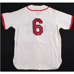 Stan Musial Signed Cardinals Jersey (MLB Hologram)