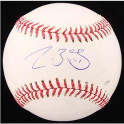 Clay Buchholz Signed OML Baseball (JSA COA)