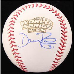 Dave Roberts Signed 2004 World Series Baseball (JSA COA)
