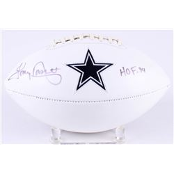 "Tony Dorsett Signed Cowboys Logo Football Inscribed ""HOF '94"" (Radtke COA)"