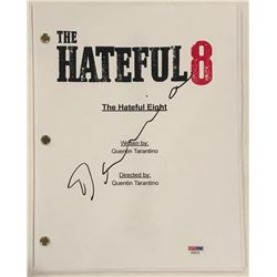 "Demian Bichir Signed ""The Hateful Eight"" Full Movie Script (PSA COA)"