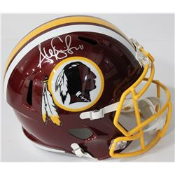Alex Smith Signed Redskins Full-Size Speed Helmet (Beckett COA)