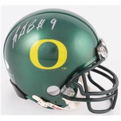 LeGarrette Blount Signed Oregon Ducks Mini Helmet (JSA COA)