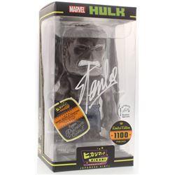 Stan Lee Signed Marvel Hikari Japanese Vinyl Funko Figurine (Radtke COA  Lee Hologram)